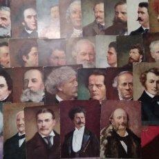 Postales: 33 POSTALES DE GRANDES COMPOSITORES .- EDICION B.K.W.I. AUSTRIACAS. Lote 136746048