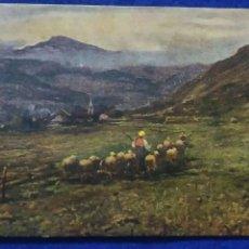 Postales: POSTAL PAISAJE. ART RISER. ESCRITA 1938.. Lote 137831862