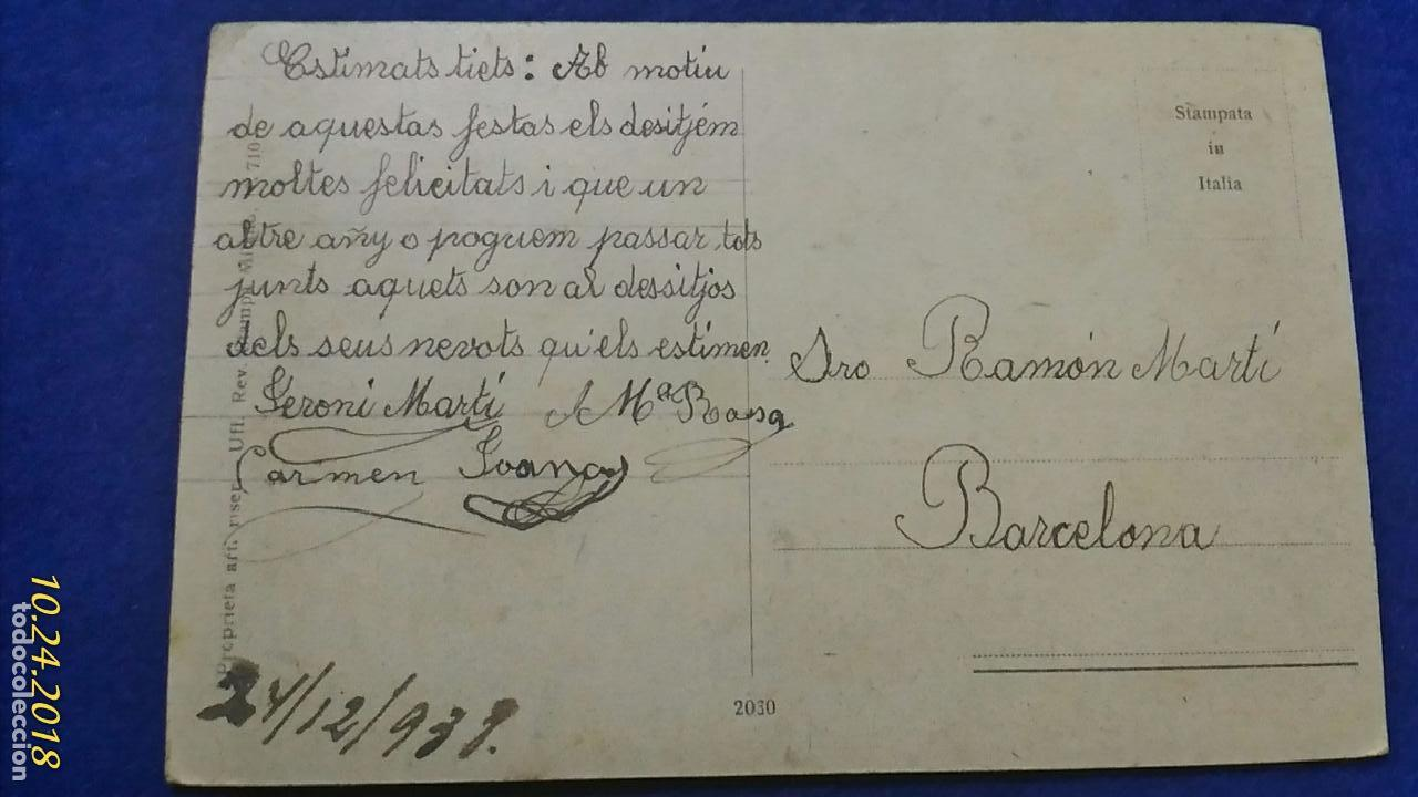 Postales: Postal Paisaje. Art Riser. Escrita 1938. - Foto 2 - 137831862