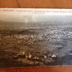 Postales: BARCELONA - PANORAMA DE HORTA, S. ANDRÉS,. Lote 138721208