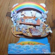 Postales: POSTAL O CARD DESPLEGABLE. ARCA DE NOÉ. SANTORO GRAPHICS. Lote 139009134