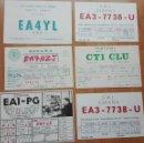 Postales: ANTIGUAS TARJETAS POSTALES RADIOAFICIONADO AÑOS 70/80. Lote 140369778