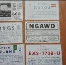 Postales: ANTIGUAS TARJETAS POSTALES RADIOAFICIONADO AÑOS 70/80. Lote 140369506