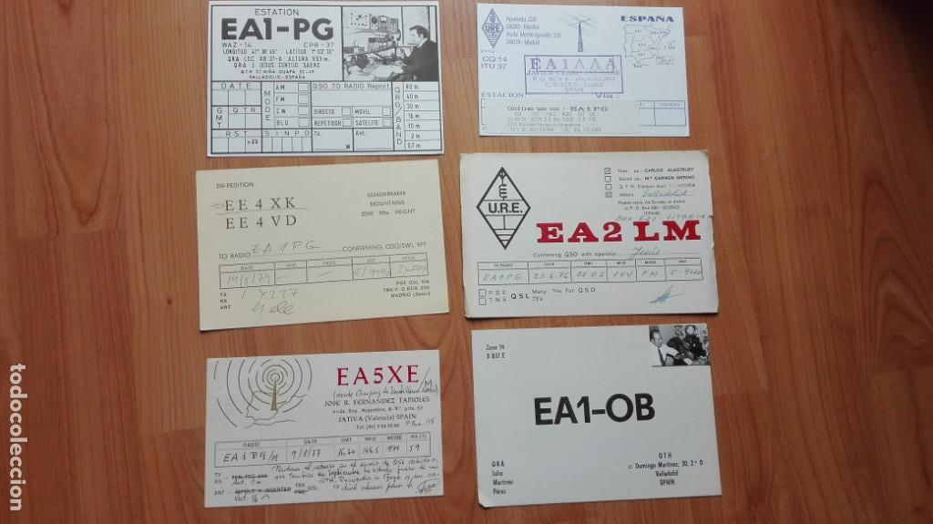 ANTIGUAS TARJETAS POSTALES RADIOAFICIONADO AÑOS 70/80 (Postales - Postales Temáticas - Especiales)