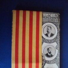 Postales: (PS-59002)POSTALS RECORT DEL HOMENETGE 20 MAIG 1906 SOLIDARITAT CATALANA COLECCIO DE 12 POSTALS. Lote 142849398
