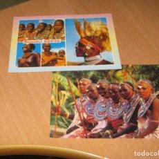 Postales: 9 POSTALES DE KENIA. Lote 142867618