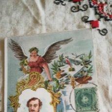 Postales: POSTAL DEL SIGLO XIX. Lote 143280302