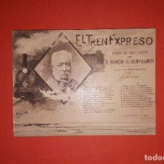 Postales: LOTE DE 20 POSTALES EL TREN EXPRESO CAMPOAMOR HAUSER Y MENET. Lote 144588646