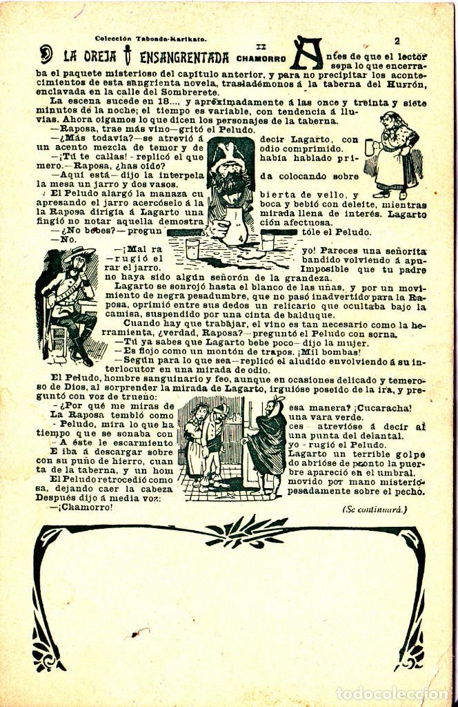 LA OREJA ENSANGRENTADA Nº 2 - COLECCION TABOADA - KARIKATO (Postales - Postales Temáticas - Especiales)