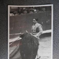 Postales: PEPE BIENVENIDA TORERO POSTAL FOTOGRAFICA ANTIGUA - TOROS. Lote 147256754