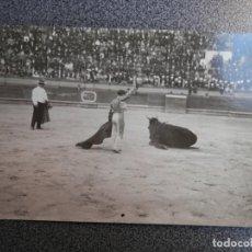 Postales: PEPITO MEJÍAS BIENVENIDA EN CARTAGENA TORERO POSTAL FOTOGRAFICA ANTIGUA - TOROS. Lote 147257678
