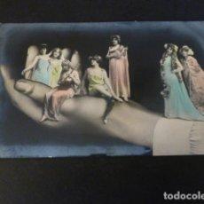 Postales: ACTRICES DE TEATRO EN MANO POSTAL. Lote 148002682