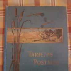 Postales: ALBUM POSTALES MODERNISTA ART NOUVEAU . Lote 148009354