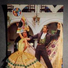 Postales: POSTAL BORDADA - FLAMENCA - DOMINGUEZ, S.A. - ESCRITA -. Lote 149904898