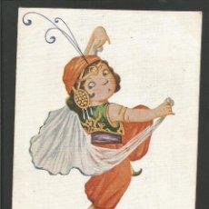 Postales: DANZA MORA-ILUSTRACION DE J.IBAÑEZ-ED·VICTORIA-POSTAL ANTIGUA-(57.434). Lote 153401138