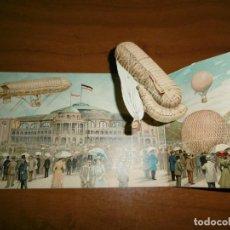 Postales: POSTAL ESPECIAL DESPLEGABLE DE ZEPPELIN. Lote 154094250