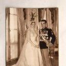 Postales: POSTAL, FOTOGRAFÍA OFICIAL BODAS REALES. PRINCIPES DE MONACO. RAINERO Y GRACE KELLY (A.1956). Lote 155204104