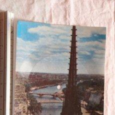 Postales: POSTAL SINGLE PARIS MUSICARTE Nº 111 LA SEINE-LA SEINE POR RAYMOND FALGAYRAC FOTO NOTRE DAME. Lote 155476858