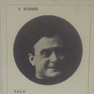 Gula. Enrich Borrás. Actor Català. Ediciones Lux. 7 pecados capitales. Enrique Borrás