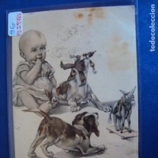 Postales: (PS-59788)POSTAL ILUSTRADA-ARCHIVO RELIEVES BASA & PAGES. Lote 155656398