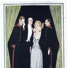 Postales: POSTAL ILUSTRADA ACADEMIA DE ARTILLERIA SANTA BARBARA 1923. TIP. ART. SIN CIRCULAR. Lote 155671658