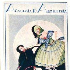 Postales: POSTAL ILUSTRADA ACADEMIA DE ARTILLERIA SANTA BARBARA 1923. TIP. ART. SIN CIRCULAR. Lote 155671806
