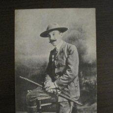 Postales: D. TEODORO IRADIER-SECRETARIO COMISARIO GENERAL EXPLORADORES ESPAÑA-POSTAL ANTIGUA-VER FOTOS(57.756). Lote 155677298