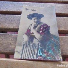 Postales: TARJETA POSTAL COLOREADA PEPITA SEVILLA CIRCULADA. Lote 155783586