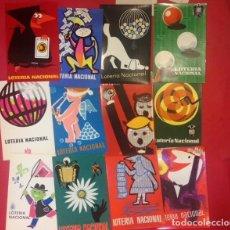 Postales: COLECCION DE TARJETAS POSTALES DE LA LOTERIA NACIONAL SERIE A. Lote 156041942