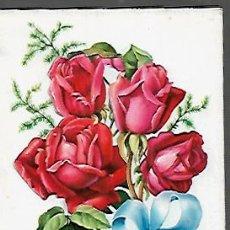 Postales: FELICITACION TROQUELADA 1963 -ZSOLT. Lote 157707553