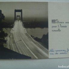 Postales: BONITA POSTAL PARA FELICITAR EN AÑO NUEVO, DE FRANCIA. 1968. Lote 158388326
