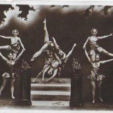 Postales: P-9157. POSTAL FOTOGRAFICA THE ORIGINAL GOLDEN DANCERS.. Lote 158407278
