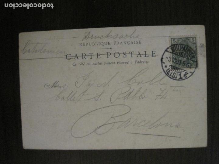 Postales: LOS 7 PECADOS CAPITALES-COL·COMPLETA DE 7 POSTALES ILUSTRADAS POR JACK ABEILLE-VER FOTOS-(58.260) - Foto 11 - 158439274