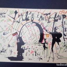 Postales: LOTERIA NACIONAL, SORTEO HISPANIDAD 1979, MUSEO DALI, FIGUERAS. Lote 159015058