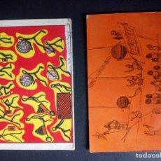 Postales: LOTERIA NACIONAL, 1971, SERIE F, DOS POSTALES. Lote 159045974