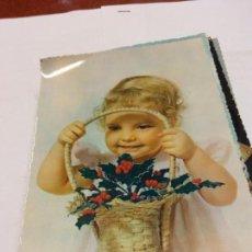 Postales: BJS.LINDA POSTAL NIÑA .ESCRITA.COMPLETA TU COLECCION.. Lote 159613394