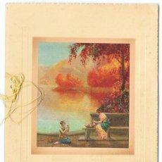 Postales: TARJETA POSTAL INGLESA WISHING YOU HAPPINESS . Lote 161473402