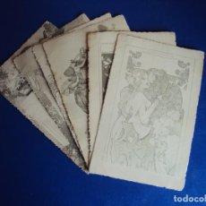 Postales: (PS-60222)LOTE DE 6 POSTALES ILUSTRADAS. Lote 161889766