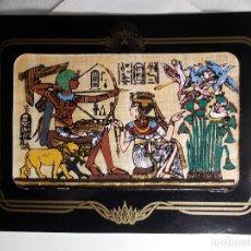 Postales: POSTAL EGIPTO SOUVENIR DEL MUSEO BRITÁNICO DE LONDRES (SIGLO XX). Lote 162325394