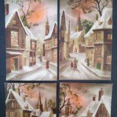 Postales: POSTALES FRANCESA DE NAVIDAD. Lote 162339506