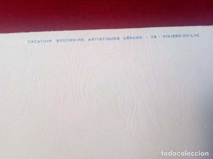 Postales: POSTAL SIN CIRCULAR AUTÉNTICA FLOR DE NIEVE (EDELWEIS) CAUTERETS - PIRINEO (AÑOS 70) - REF: 189/199 - Foto 8 - 217407672