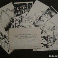 Postales: EXCURSIONISME-COL·LECCIO COMPLETA DE 7 POSTALS-ED·MONTSENY-EXCURSIONISMO-VER FOTOS-(59.191). Lote 162961674