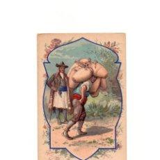 Postales: OFICIOS DE ESPAÑA. VENDEDOR DE JARRAS. JARRERO. EDICION FRANCESA. MARCHAND DE JARRES (JARRERO).. Lote 163725906