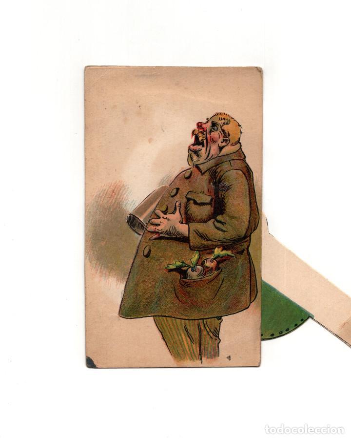 Postales: BEBEDOR DE CERVEZA.- POSTAL MOVIL. - Foto 2 - 163726498