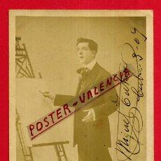 Postales: POSTAL ACTOR CATALAN MIGUEL TUTAU , FOTOGRAFICA , ORIGINAL , P536. Lote 163941514