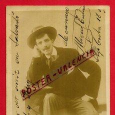 Postales: POSTAL ACTOR CATALAN MIGUEL TUTAU , FOTOGRAFICA , ORIGINAL , P538. Lote 163941574