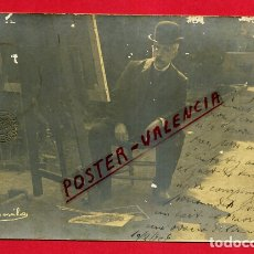 Postales: POSTAL CATALANA PINTOR MAS Y FONDEVILA , CATALAN , FOTOGRAFICA , ORIGINAL , P540. Lote 163942138