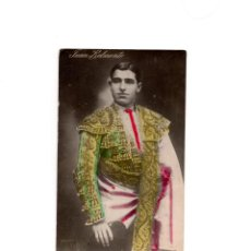 Postales: TORERO - JUAN BELMONTE. POSTAL FOTOGRÁFICA.. Lote 164065618