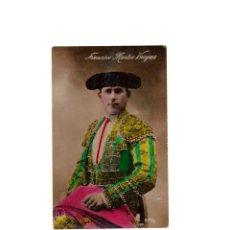 Postales: TORERO - FRANCISCO MARTIN VAZQUEZ. POSTAL FOTOGRÁFICA.. Lote 164065958