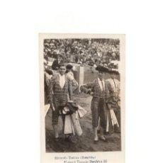 Postales: PLAZA DE TOROS. RICARDO TORRES. BOMBITA. MANUEN TORES. BOMBITA III. POSTAL FOTOGRÁFICA.. Lote 164067002